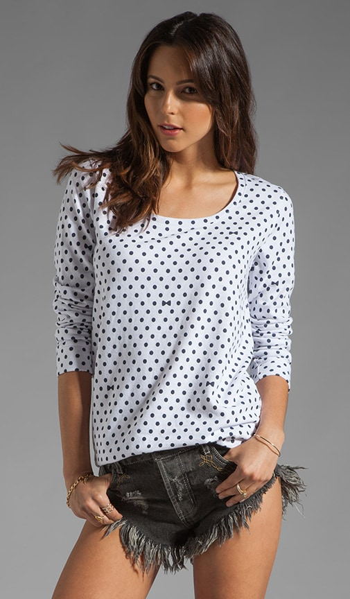 Polka Dot Boyfriend Sweatshirt