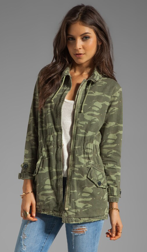 Camo Print Military Trench