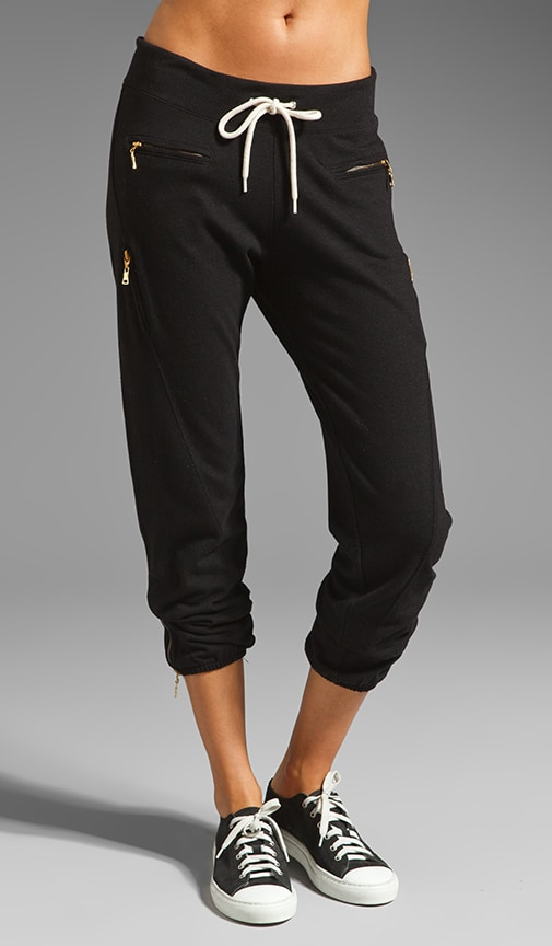 Heather Fleece Zipper Sweats