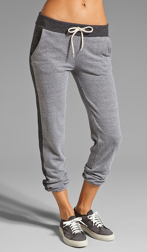 Fleece Colorblocking Track Pant