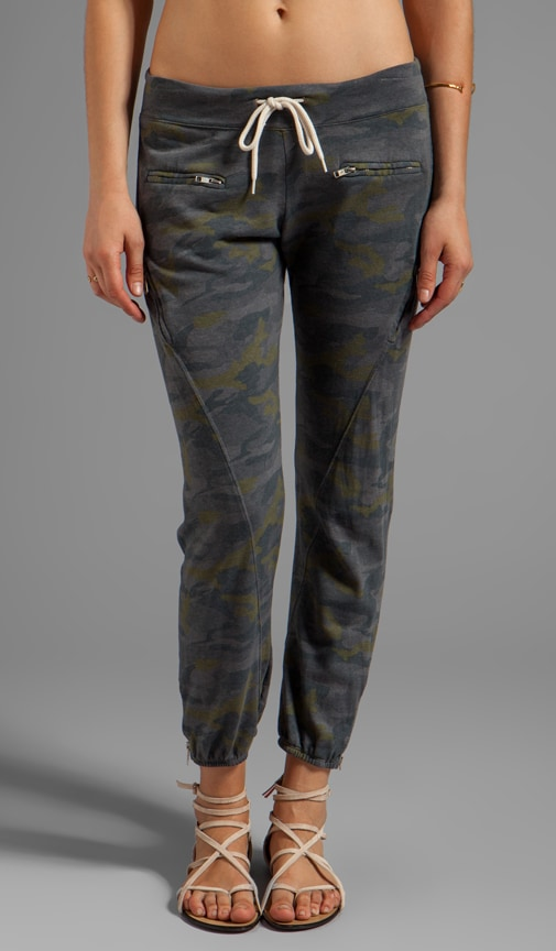 Camo Zipper Sweats