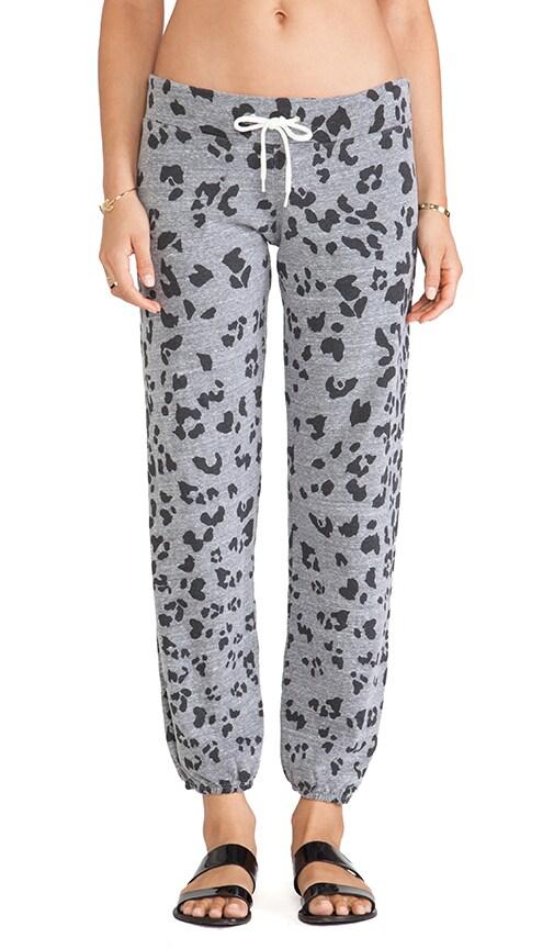 Oversized Leopard Print Vintage Sweats