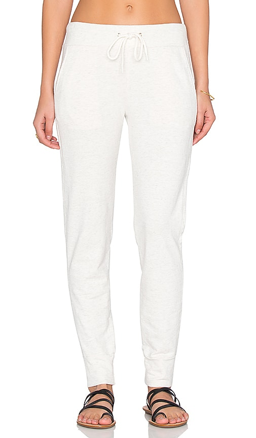 MONROW Sporty Sweatpant in Light Gray