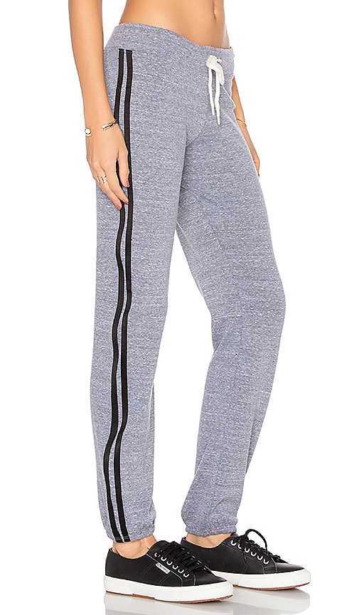 MONROW Athletic Vintage Sweatpants in Grey