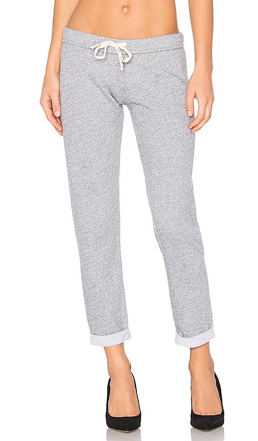 MONROW Slim Sweatpant in Gray