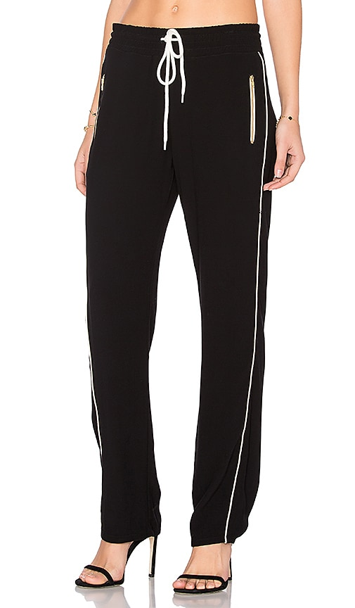 MONROW Track Pant in Black