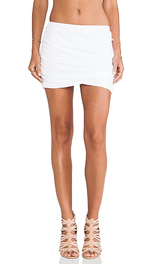 Basics Shirred Skirt