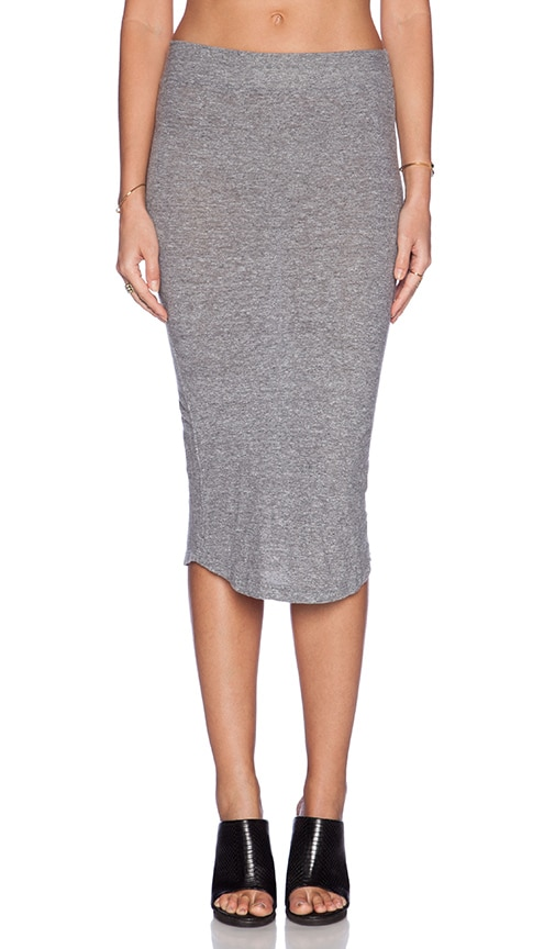 Granite Jersey Pencil Skirt