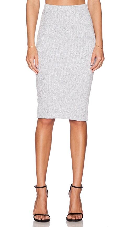 cotton spandex pencil skirt revolve
