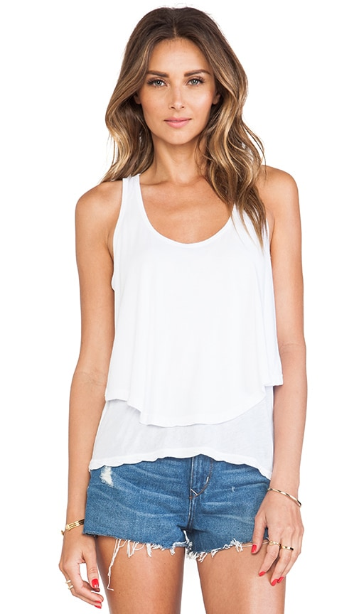 Cotton Modal Double Crop Tank
