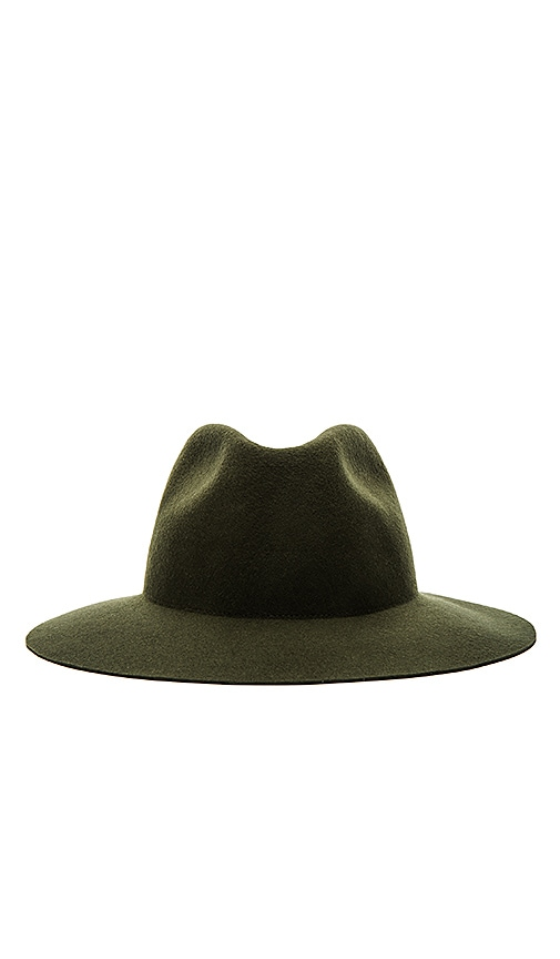 Harmony Armen Fedora in Green