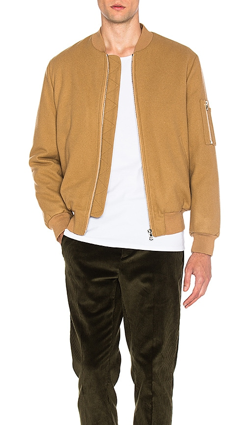 Harmony Mathys Jacket in Tan