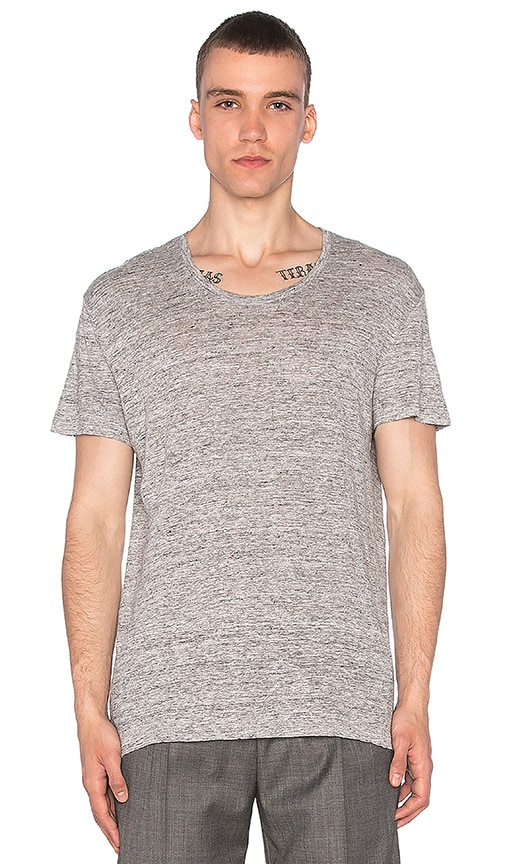 Harmony Theophile Tee in Gray