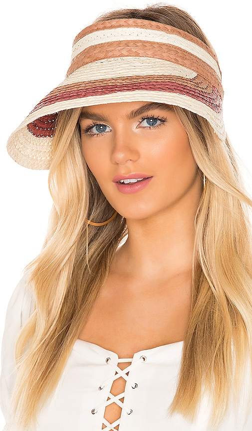 Summer Stripe Visor