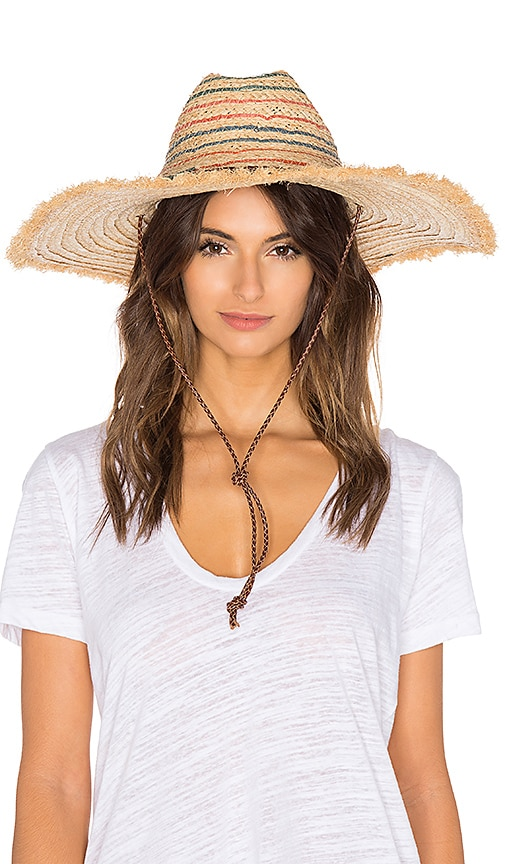 Hat Attack Beach Hat in Cream