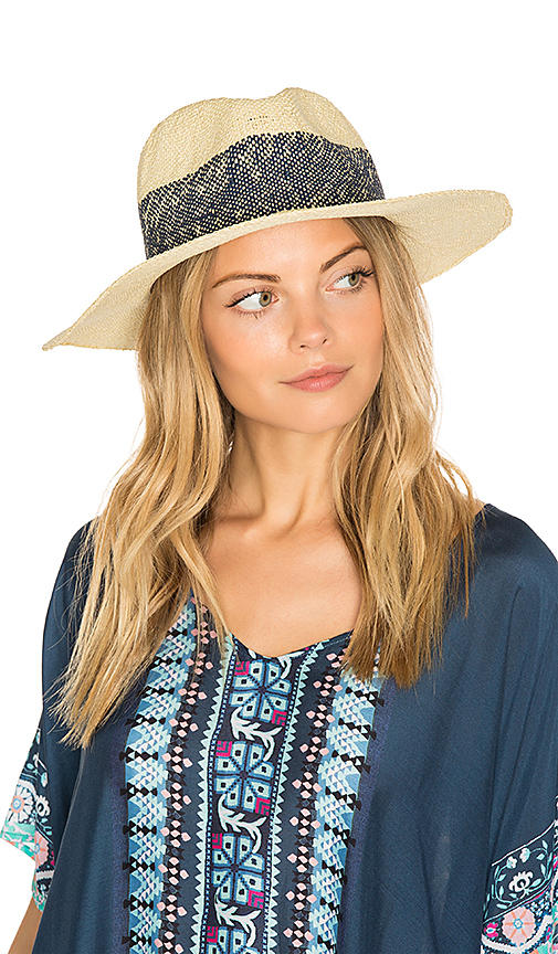 Wide Stripe Fedora