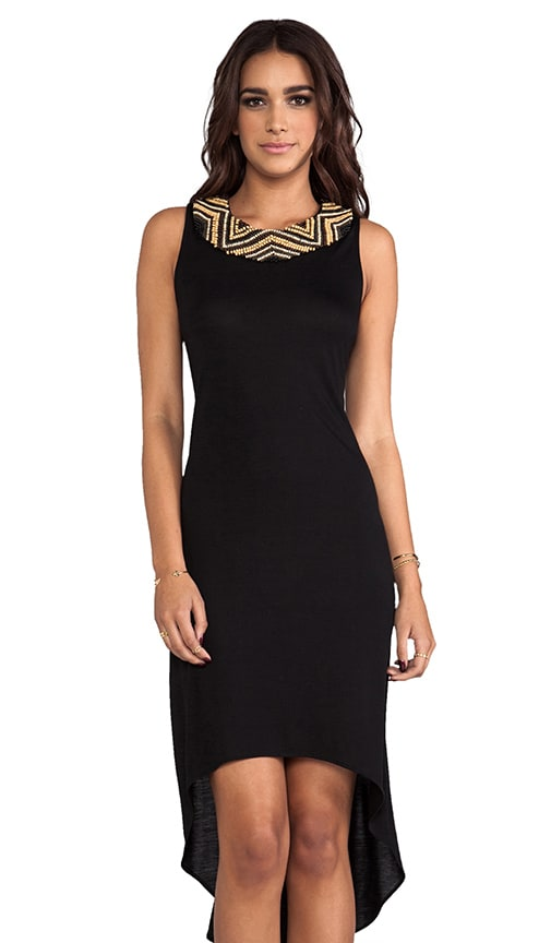 High Low Embellished Dress