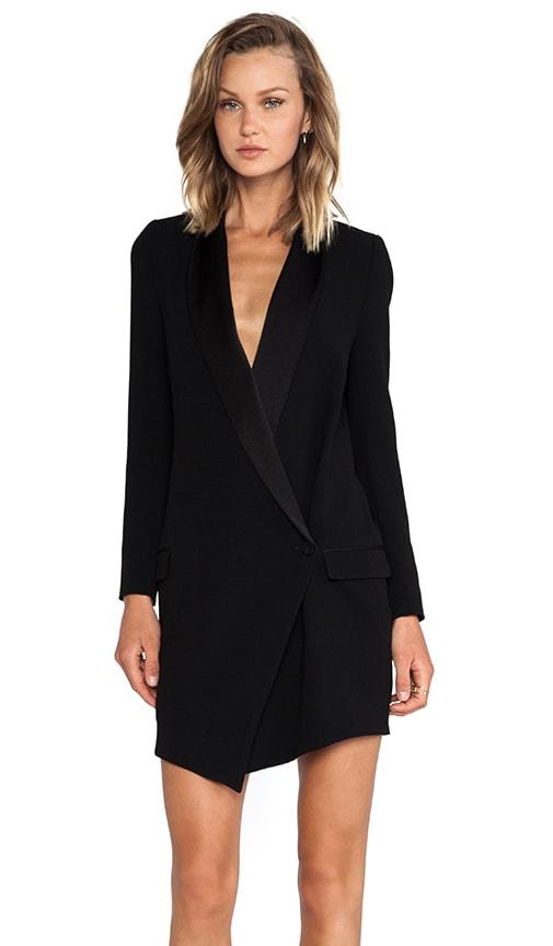 Oversized Asymmetrical Blazer Dress