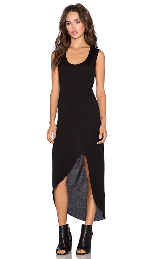 Haute Hippie Back Cut-Out Dress in Black