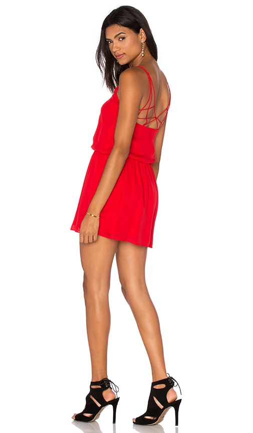 Haute Hippie The Exit Strategy Dress in Red