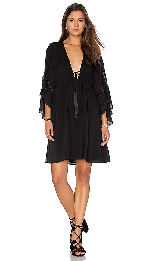 Haute Hippie The Grace Dress in Black