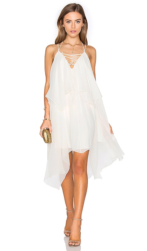 Haute Hippie Love Me Tonight Dress in White