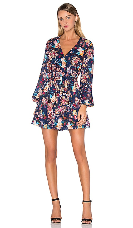 Haute Hippie Free Love Dress in Navy