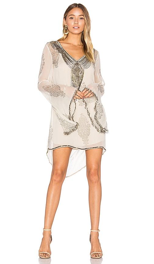 Haute Hippie Getty Mini Dress in Gray