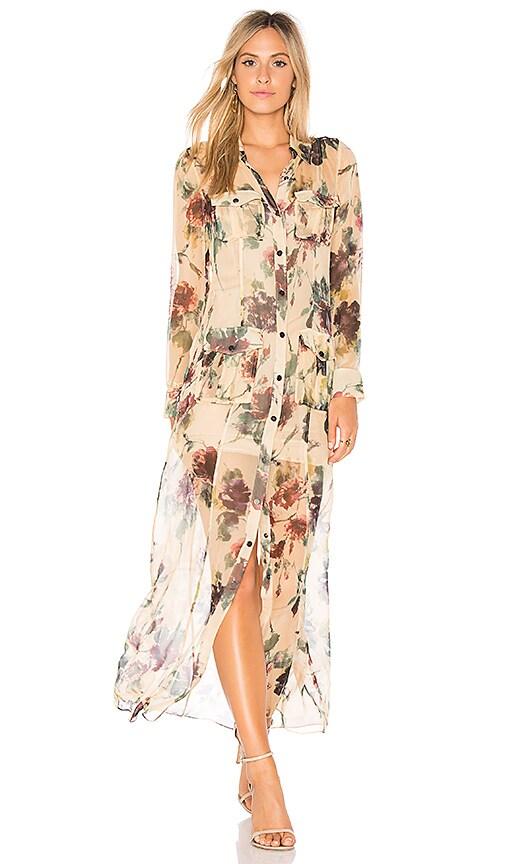 Haute Hippie Romanova Dress in Yellow