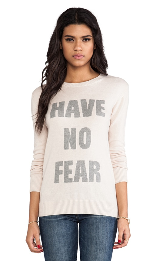 Have No Fear Graphic Sweater