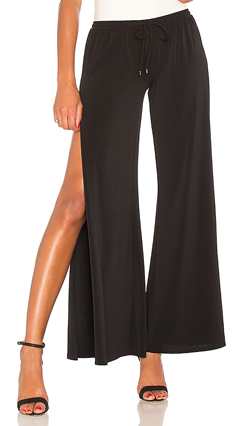 Haute Hippie Breeze Pant in Black