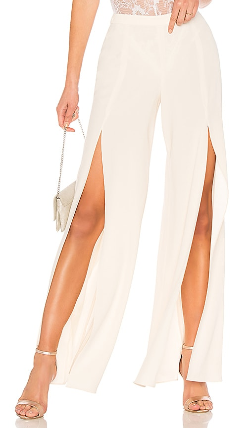 Haute Hippie Harlet Pant in Ivory