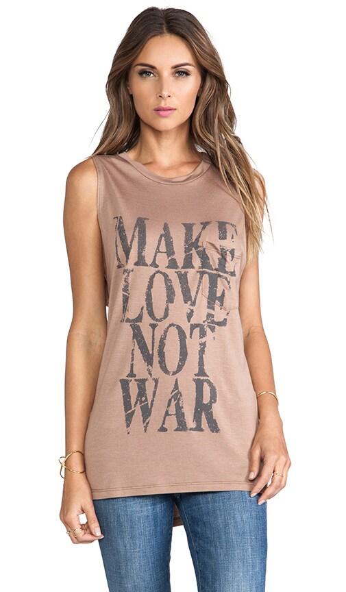 Make Love Not War Muscle Tee