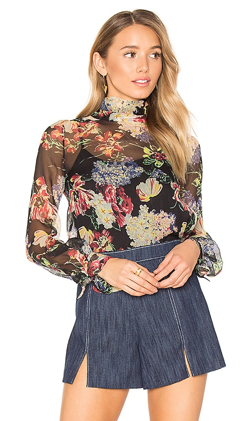 Haute Hippie Ladies And Gents Blouse in Black