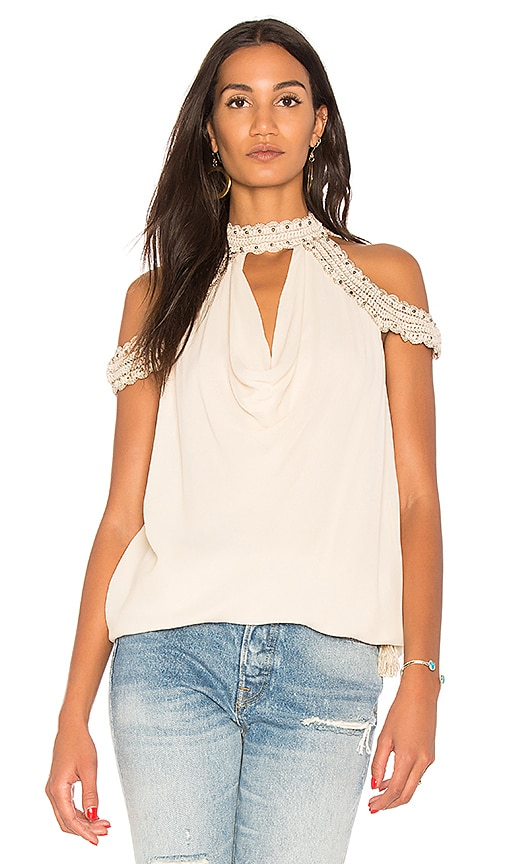 Haute Hippie Trip + Lux Top in White