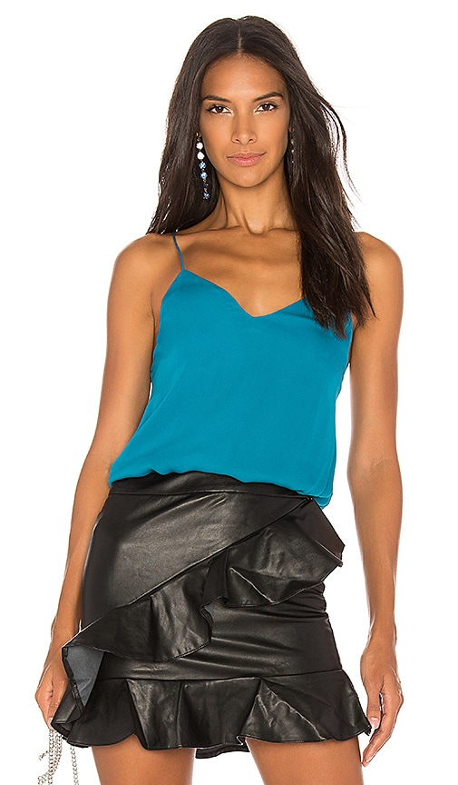 Haute Hippie Out Among The Stars Cami in Blue