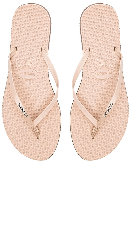 Havaianas You Flip Flop in Taupe