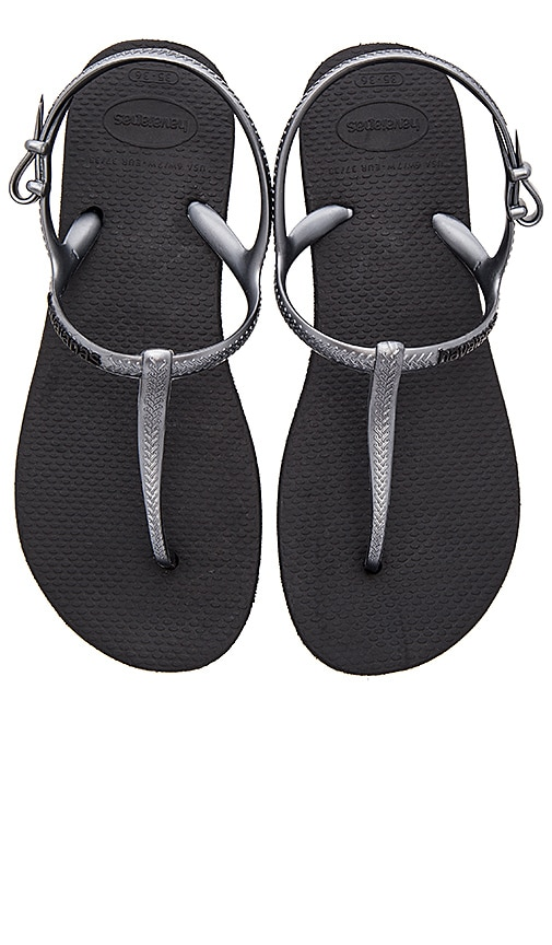 Havaianas Freedom Sandal in Black