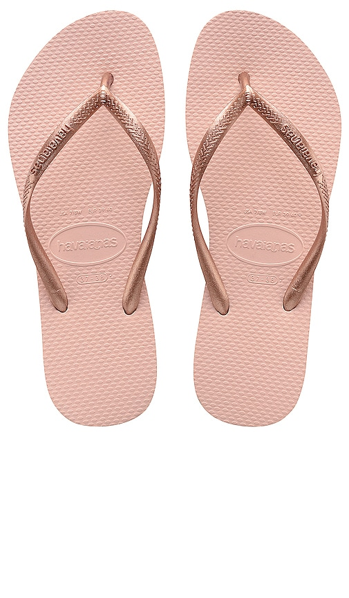 b45ebc0e1f8f2b Havaianas Slim Sandal in Ballet Rose