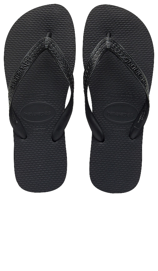 Havaianas Top Flip Flop in Black