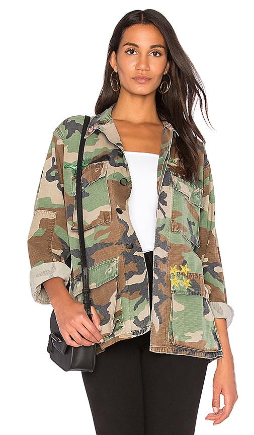 Harvey Faircloth Field Jacket in Army