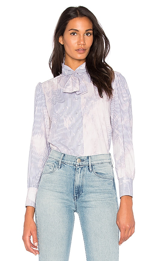 Harvey Faircloth Scout Blouse in Blue