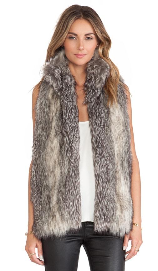 Caden Faux Fur Vest