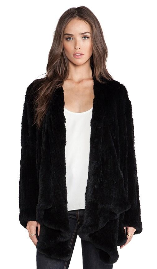 Ashleigh Rabbit Fur Coat