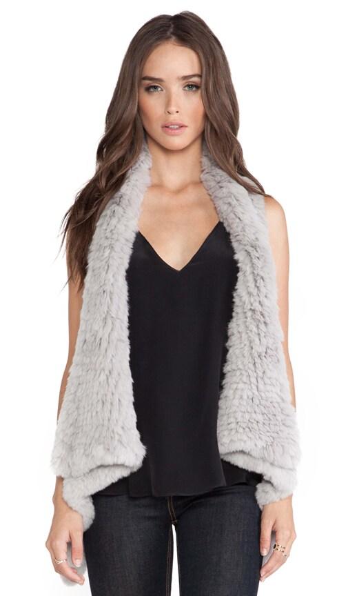 Indie Rabbit Fur Vest