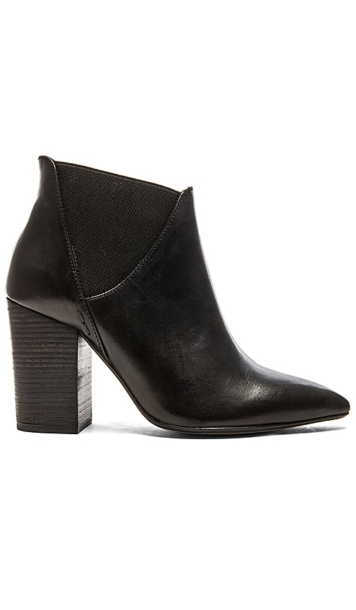 H by Hudson Crispin Bootie in Black