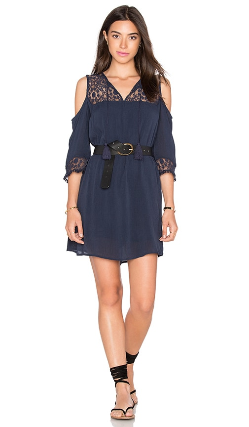 HEARTLOOM Airlia Dress in Navy