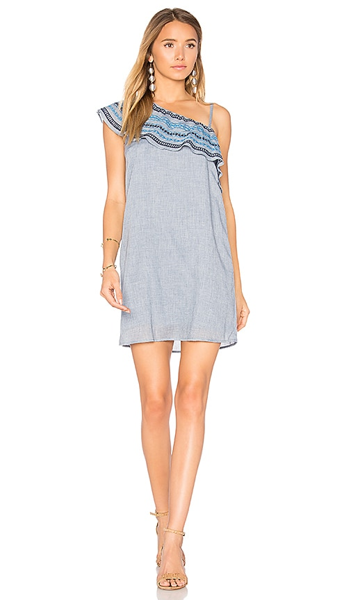 HEARTLOOM Bailey Dress in Blue