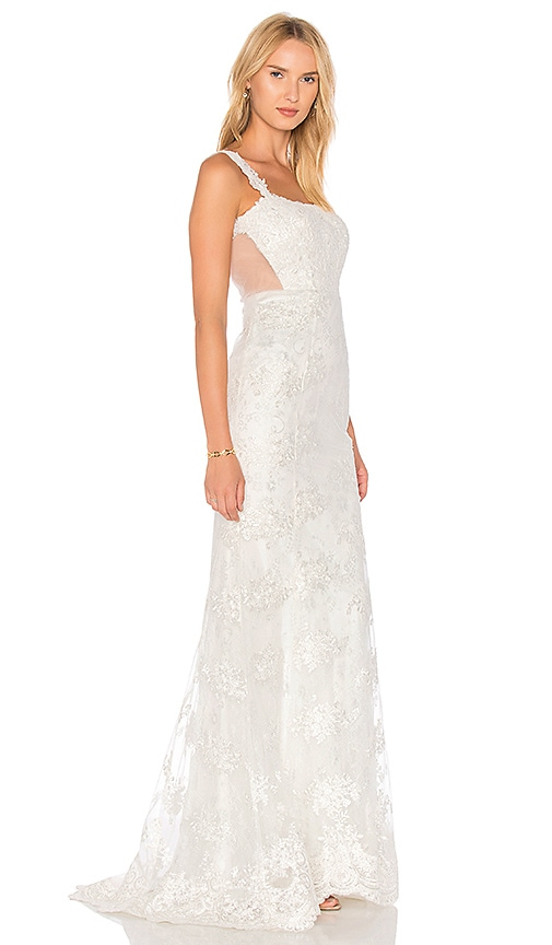 HEARTLOOM Andie Gown in White