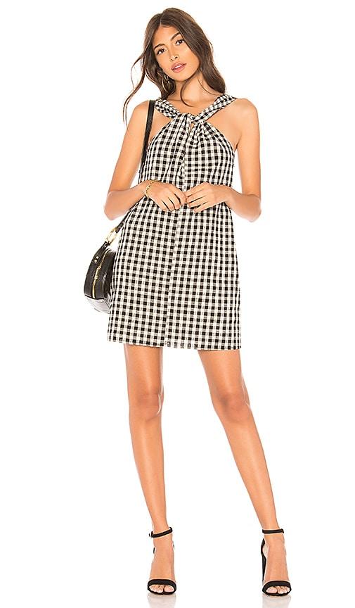 HEARTLOOM Kit Dress in Black & White